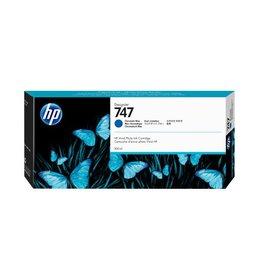 HP HP 747 (P2V85A) ink Blue 300ml (original)