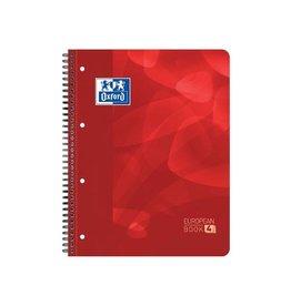 Oxford Oxford projectbook A4+ geruit 5mm 4 gaats. 120vel rd.