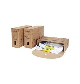 Loeffs Loeff's classic box archiefdoos, 370x260x115 mm, bruin, pk50
