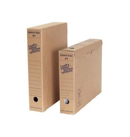 Loeffs Loeff's archiefdoos Space box, ft 320x240x60mm, bruin, 8st