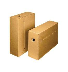 Loeffs Loeff's archiefdoos city box 10+ 390x260x115 bruin/wit 50st
