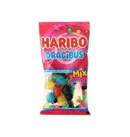Haribo Haribo snoep dragibus duomix, zak van 130 g