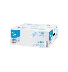 Papernet Papernet papieren handdoeken Z-vouw, 2-laags, 200 vellen wit