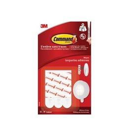 Command Command bevestigingsstrips, medium, wit 10st