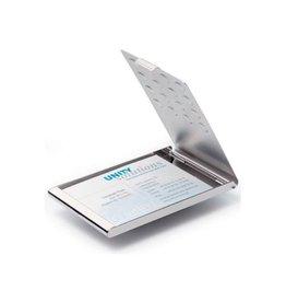 Durable Durable visitekaartenhouder chroom