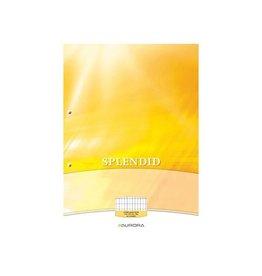 Splendid Aurora Splendid cursusblok A4 70g/m² 2-g. commercieel 100vel