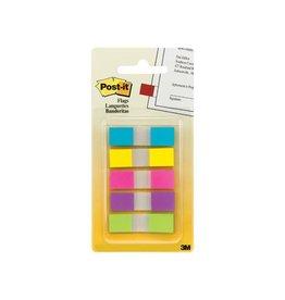Post-it Post-it index smal geassorteerde kleuren, 3 + 2 tabs gratis