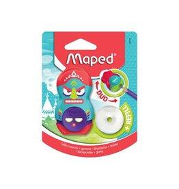 Maped Maped potloodslijper + gom totem, blister met 1 stuk [24st]