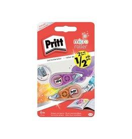 Pritt Pritt correctieroller 2st waarvan 2de aan halve prijs