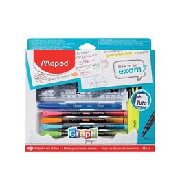 """Maped Maped """"how to exam""""-set, 8-delige ophangdoos [6st]"""