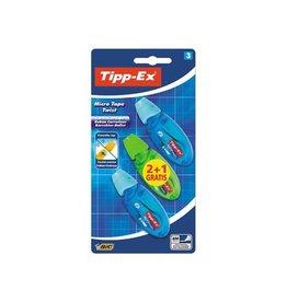 Tipp-ex Tipp-Ex correctieoller Micro Tape Twist bl. en gr. 2+1