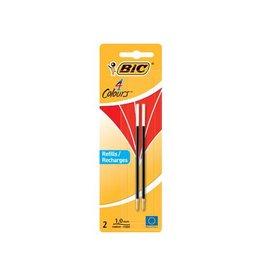Bic Bic vulling voor balpen 4 colours medium 2st rood