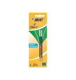 Bic Bic vulling voor balpen 4 colours medium 2st groen