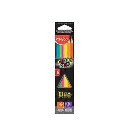 Maped Maped driehoekig kleurpotlood color'peps fluo