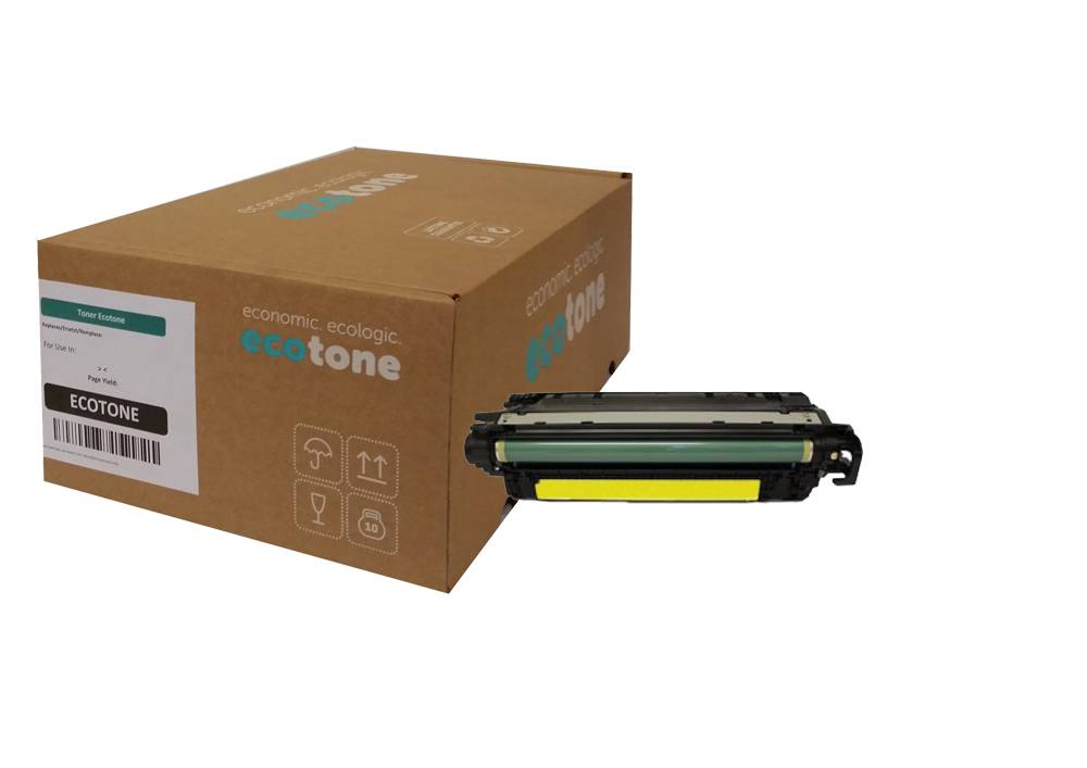 Ecotone Canon 732 (6260B002) toner yellow 6400 pages (Ecotone)
