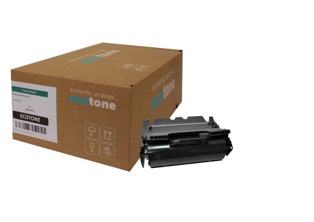 Ecotone Lexmark X644H21E toner black 21000 pages (Ecotone)
