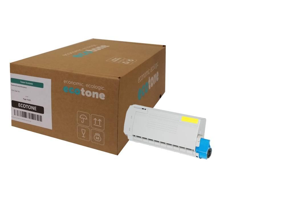 Ecotone OKI 46507505 toner yellow 8000 pages (Ecotone)