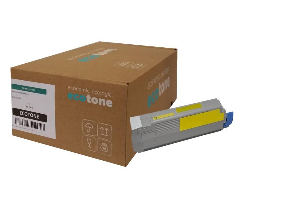 Ecotone OKI 44059229 toner yellow 9000 pages (Ecotone)