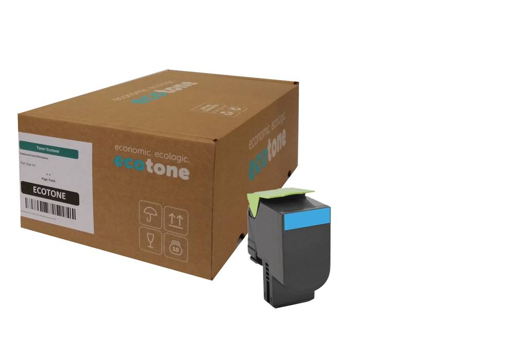 Ecotone Lexmark 71B20C0 toner cyan 2300 pages (Ecotone)