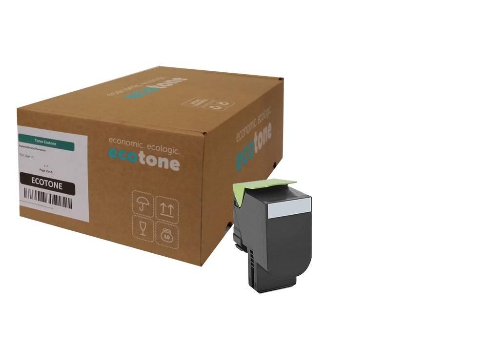 Ecotone Lexmark 71B2HK0 toner black 6000 pages (Ecotone)