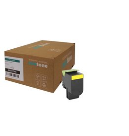 Ecotone Lexmark 71B2HY0 toner yellow 3500 pages (Ecotone)