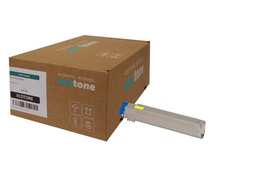 Ecotone OKI 46508709 toner yellow 3000 pages (Ecotone)