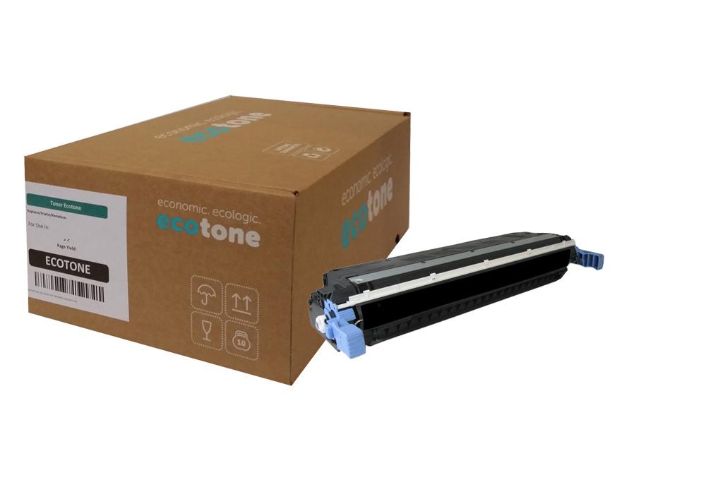 Ecotone HP 501A (Q6470A) toner black 11000 pages (Ecotone)