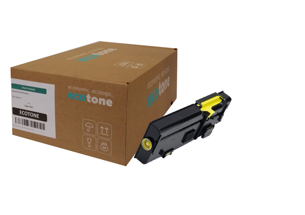 Ecotone Dell R9PYX (593-BBBO) toner yellow 2000 pages (Ecotone)