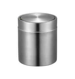 Eko Eko tafelafvalbak RVS mat, 1,5 liter
