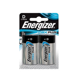 Energizer Energizer batterijen Max Plus D, blister van 2 stuks