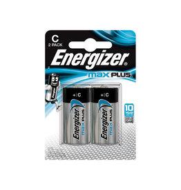 Energizer Energizer batterijen Max Plus C, blister van 2 stuks