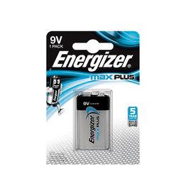 Energizer Energizer batterij Max Plus 9V, op blister