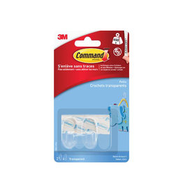 Command Command decohaak small draagvermogen 450g transp. 2st