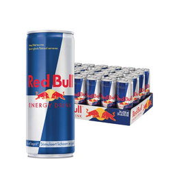 Red Bull Red Bull energiedrank 25 cl, pak van 24 stuks, regular