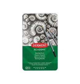 Derwent Derwent grafietpotlood Academy, blik van 12st