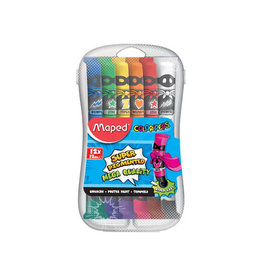 Maped Maped plakkaatverf Color'Peps 12ml 12 tubes in plastic etui