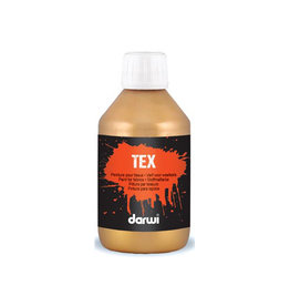 Darwi Darwi textielverf Tex, 250 ml, goud