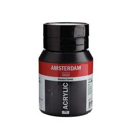 Talens Amsterdam acrylinkt, flesje van 500 ml, oxydzwart