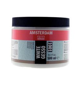 Amsterdam Amsterdam witte gesso, fles van 500 ml