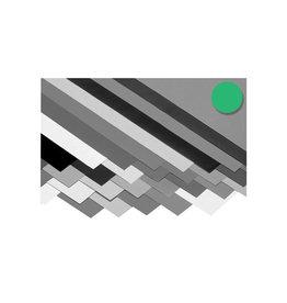 Folia Folia fotokarton smaragdgroen, pak met 10 vel