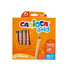 Carioca Carioca kleurpotlood Baby 3-in-110st. in geas. kl. [12st]