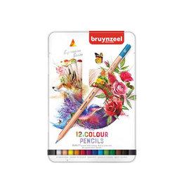 Bruynzeel Bruynzeel kleurpotloden Expression, doos van 12 stuks
