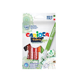 Carioca Carcioca textielstift Fabricliner, doos van 10st in assorti