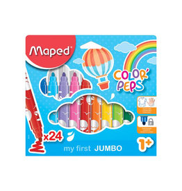 Maped Maped viltstift Color'Peps Early Age, doos 24st in assorti