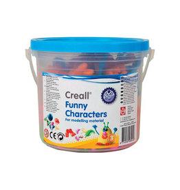 Creall Creall boetseeraccessoires Funny Characters emmertje geas.