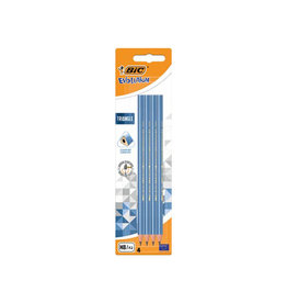 Bic Bic potlood Evolution Triangle, blister van 4 stuks