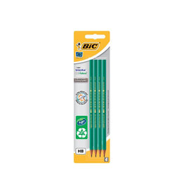 Bic Bic potlood Evolution 650 HB, blister van 4 stuks