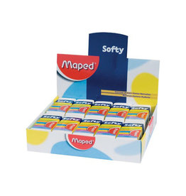 Maped Maped potloodgom Softy medium formaat, doos van 20 stuks