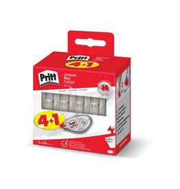 Pritt Pritt correctieroller Compact Flex 4,2mm x 10m, 4 + 1 GRATIS