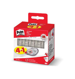 Pritt Pritt correctieroller Compact Flex 4,2mmx10 m, 4 + 1 GRATIS